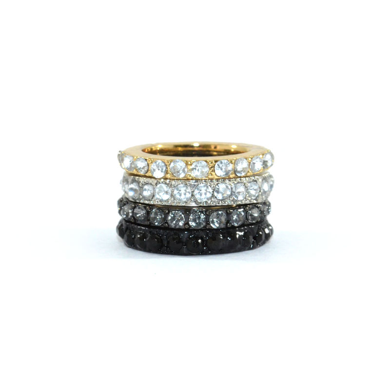 CRYSTAL EDGE RING SET - product image