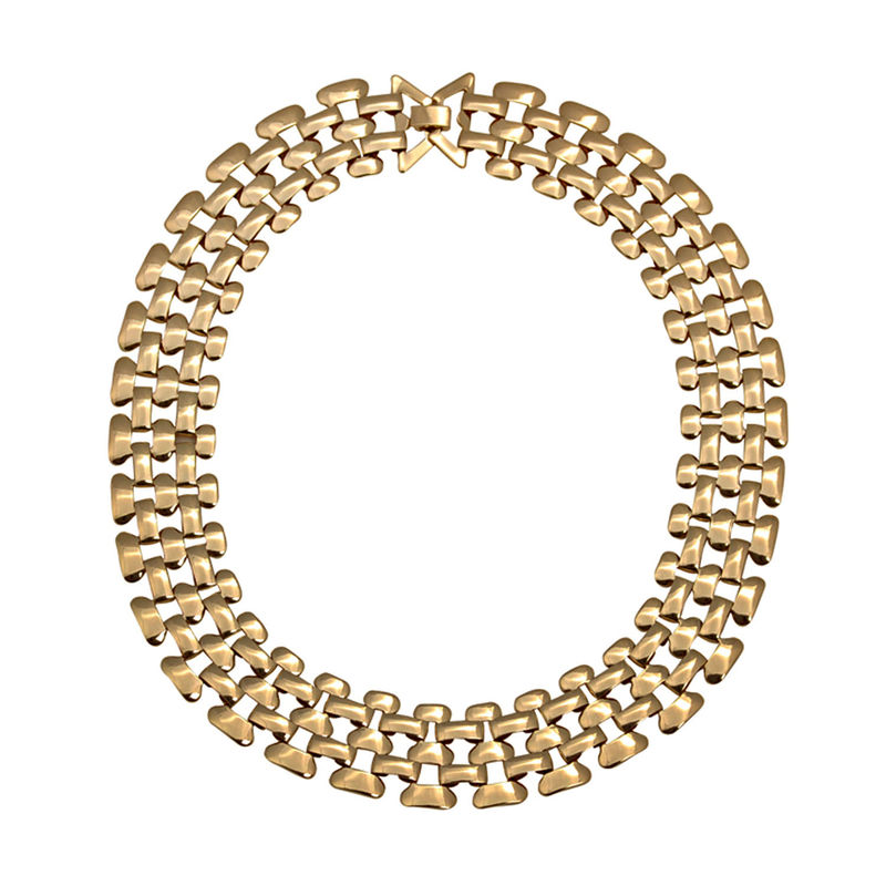 TWO TONE CHAIN NECKLACE - product image