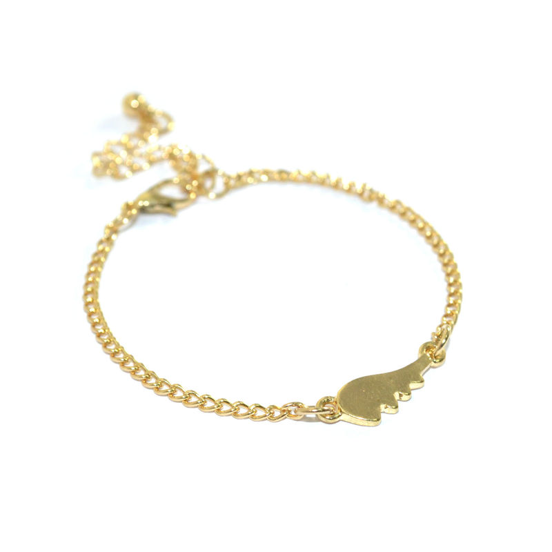 ANGEL WING CHARM BRACELET - product image