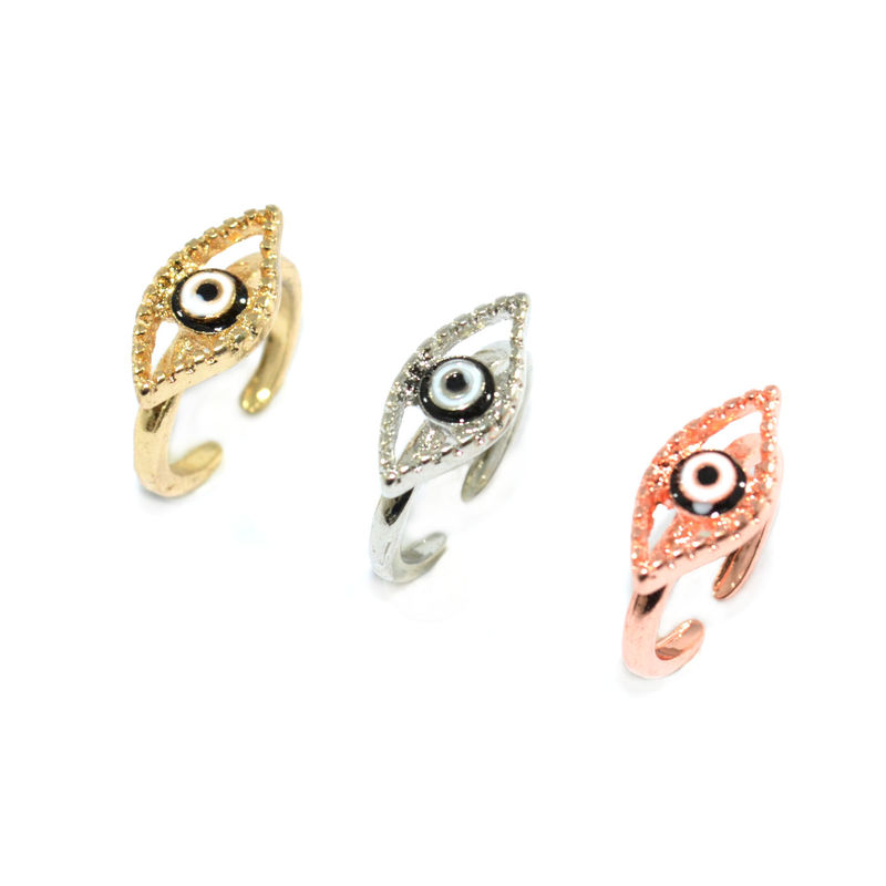 SINGLE EYE ABOVE KNUCKLE RING - product image