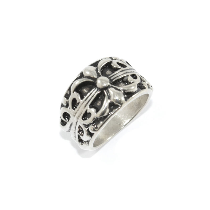 VINTAGE ENGRAVED PATTERN RING - product image