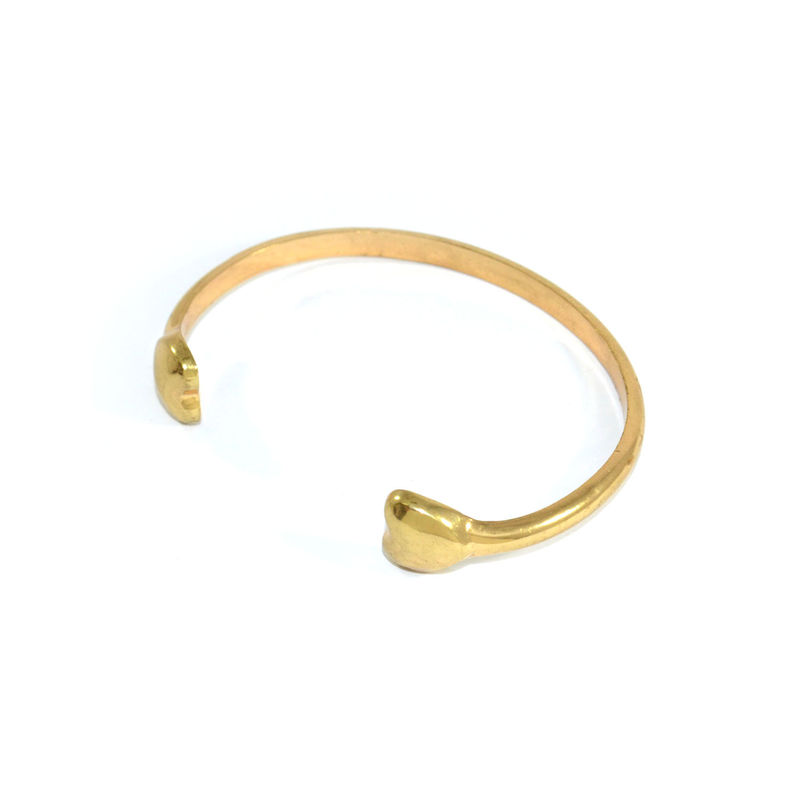 DOUBLE HEART BANGLE - product image