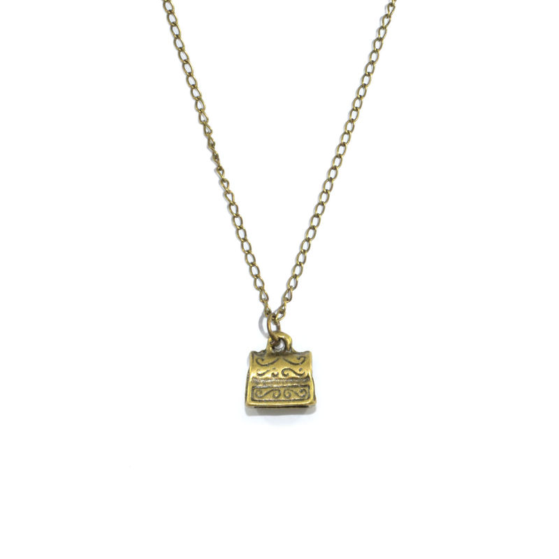VINTAGE TREASURE BOX NECKLACE - product image