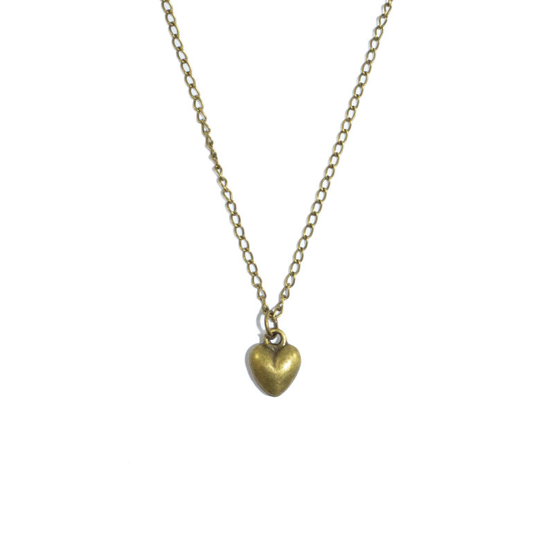 VINTAGE HEART NECKLACE - product image
