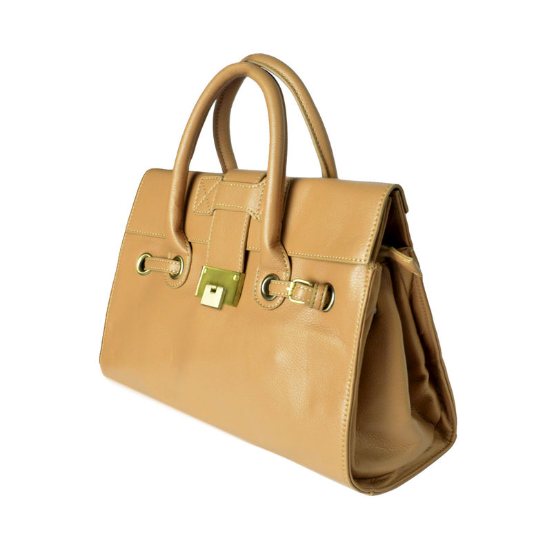 FRONT FLAP SINGLE LOCK HANDBAG - product image