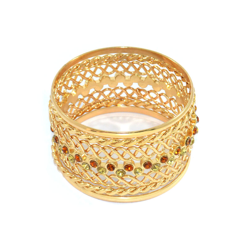 TWIST CHAIN BANGLE SET - product image