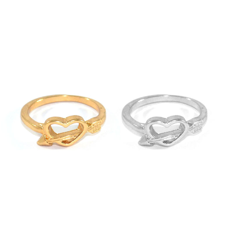 HEART WITH ARROW RING - product image