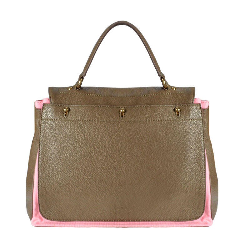 BROWN DOUBLE STRAP BAG - product image