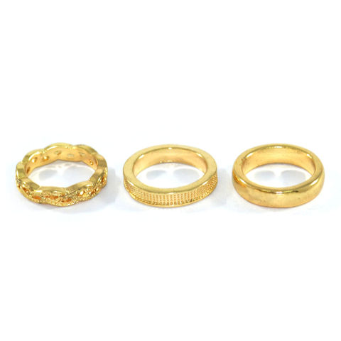 MINIMAL,PATTERN,RING,SET,GOLD RING SET, GOLD PATTERN RING, MINIMAL GOLD RING