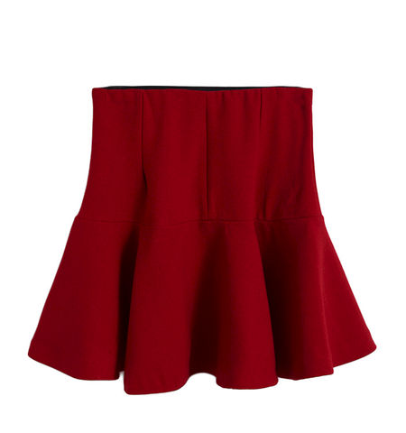 HIGH,WAIST,PLEATED,SKIRT,HIGH WAIST PLEATED DRESS, HIGH WAIST SKIRT, RED HIGH WAIST SKIRT, BLACK HIGH WAIST SKIRT