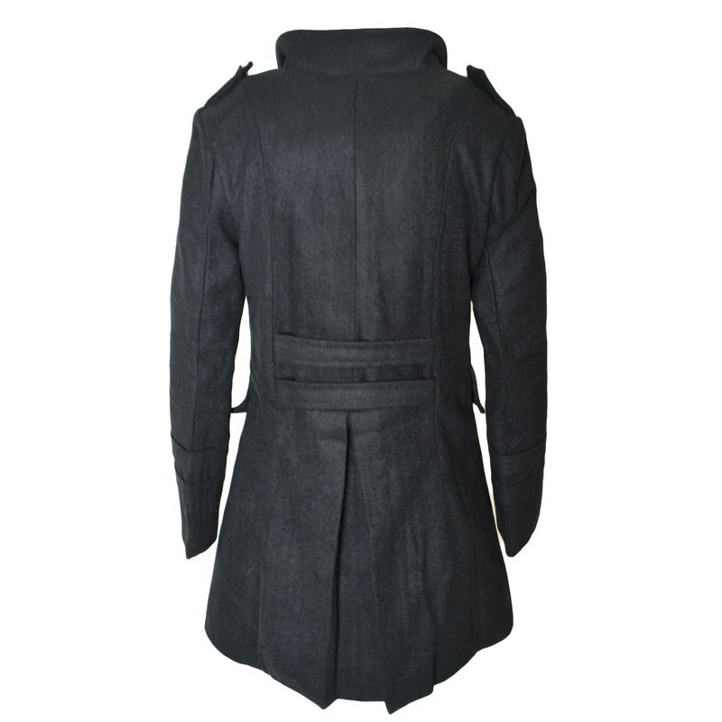 DOUBLE BREASTED LONG COAT - product image