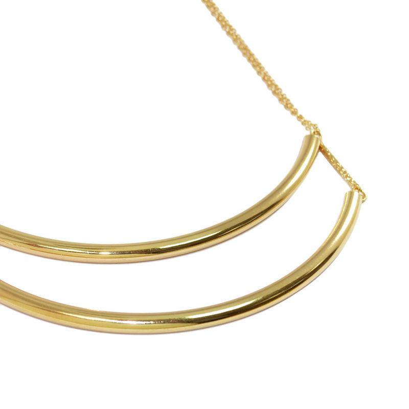 CURVE TUBE COLLAR NECKLACE - product image