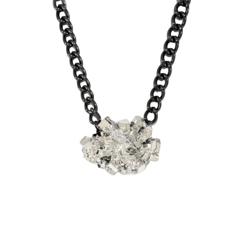 IRREGULAR STONE PENDANT NECKLACE - product image