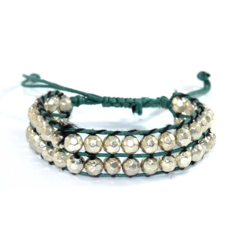 DOUBLE LAYER BEADS BRACELET - product image