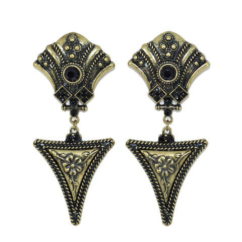 VINTAGE,STYLE,CARVING,PATTERN,DANGLING,EARRINGS,CARVING PATTERN EARRING, VINTAGE CARVING PATTERN EARRING, VINTAGE STYLE PATTERN EARRINGS, VINTAGE CAVING PATTERN DANGLING EARRING
