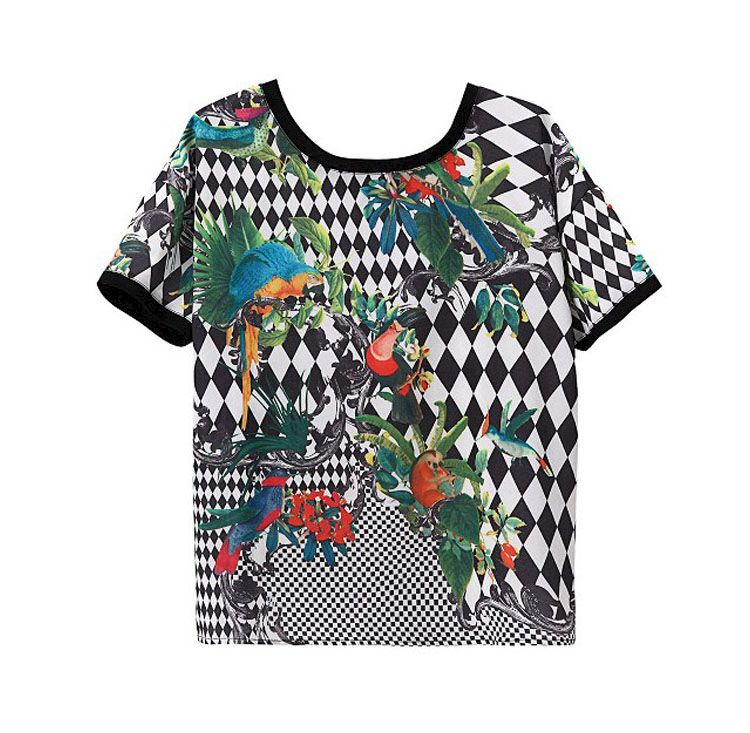 BIRDS OF PARADISE TEE - product image