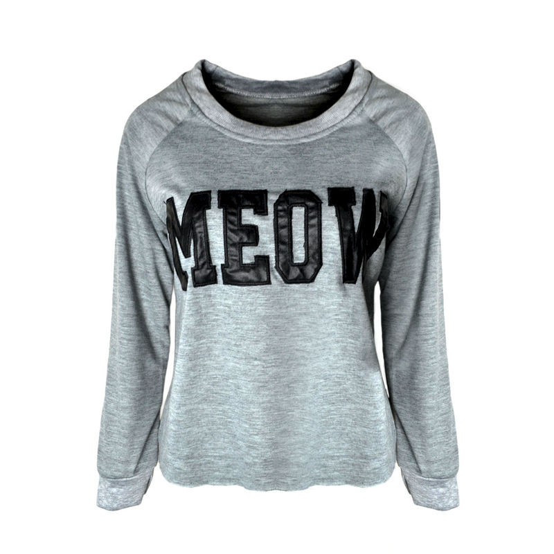 MEOW CROPPED JUMPER - product image