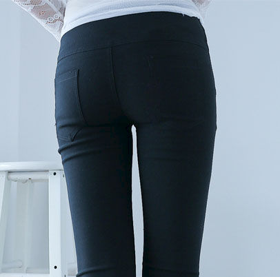 BOTTON HIGH WAIST JEANS - product image