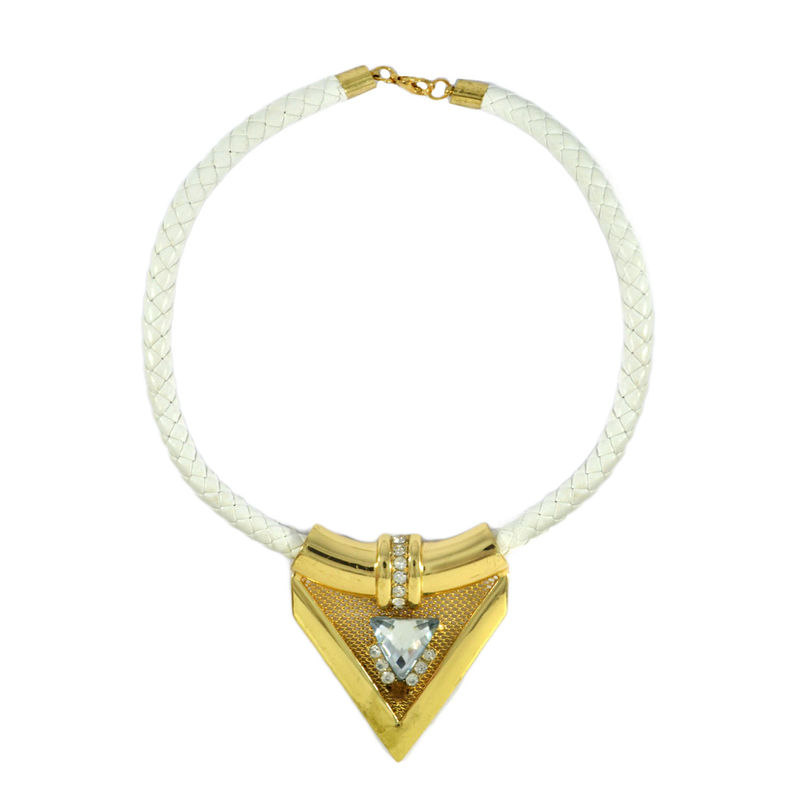 CRYSTAL DAGGER NECKLACE - product image