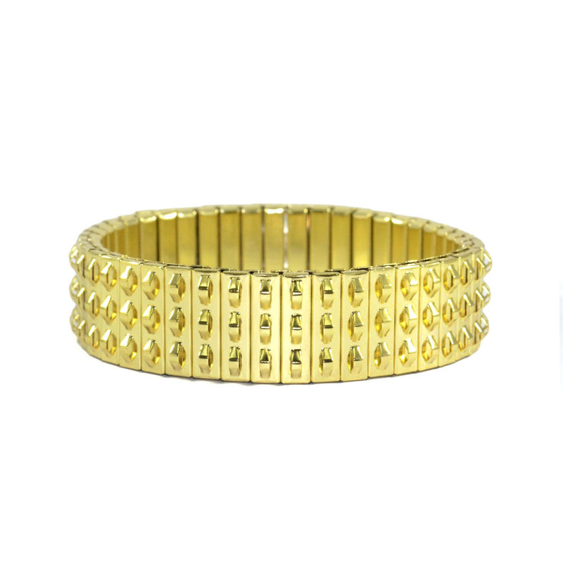 MINI PARALLEL STUD BRACELET - product image