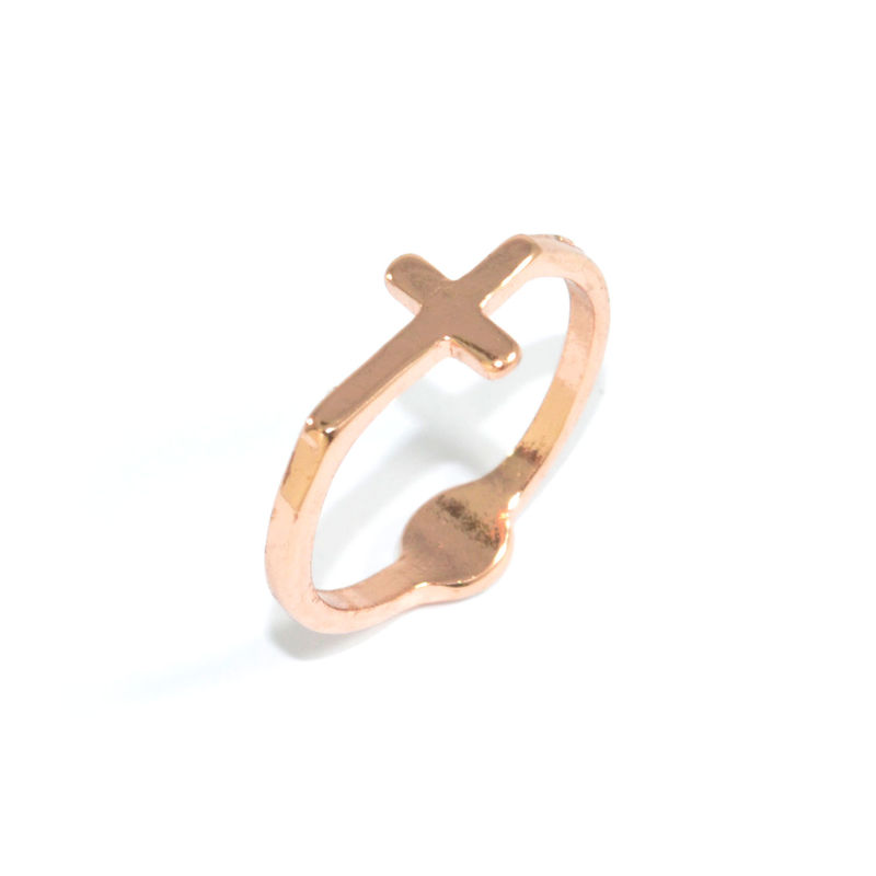 DOT AND CROSS RING - product image