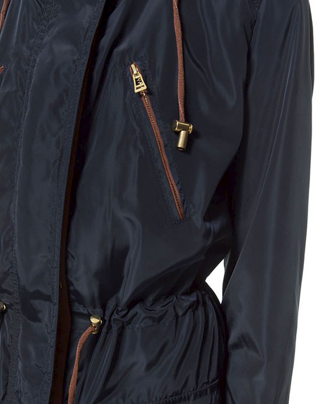 PARKA WITH HOOD AND POCKET - product image