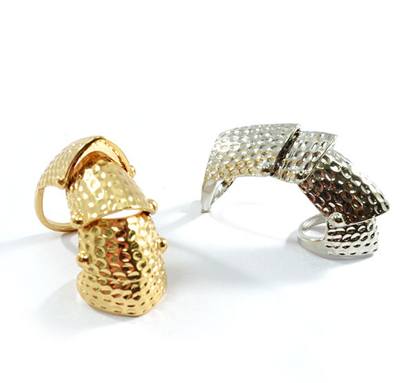 LONG ARMOUR RING - product image