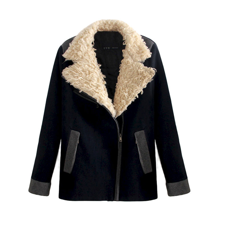 BIG TEDDY FUR COLLAR JACKET - product image