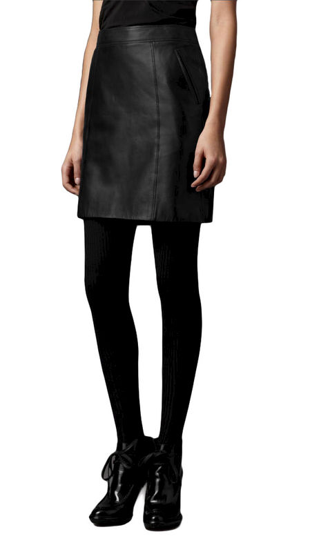 LEATHER LOOK SKIRT - product image
