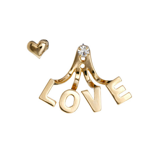 HEART AND LOVE EARRING SET - product image