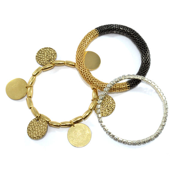 COIN CHARMS BRACELET SET - product image