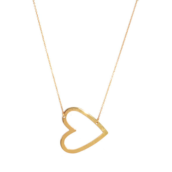 MINIMAL HEART NECKLACE - product image