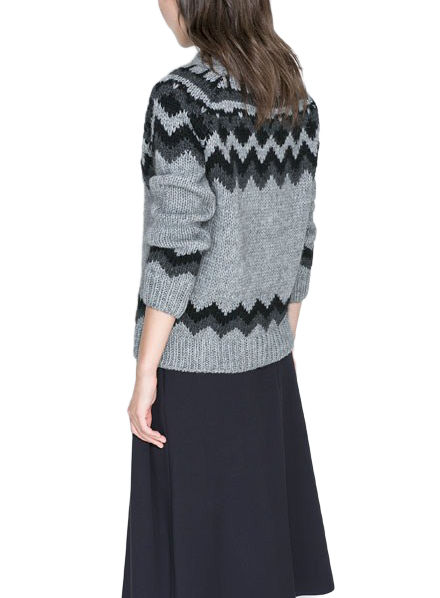 WEAVE KNIT JUMPER - product image