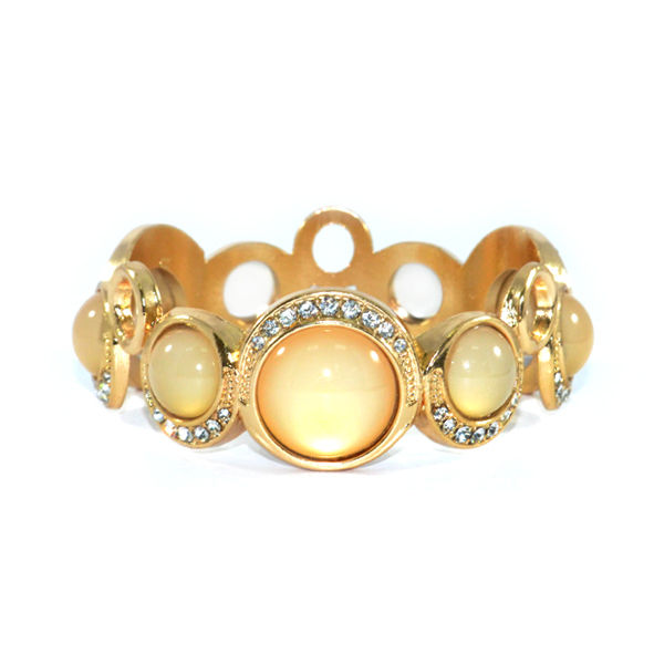 IRREGULAR CRYSTAL BANGLE - product image