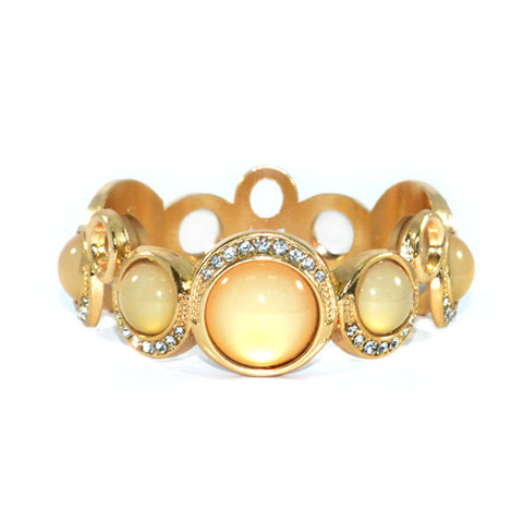 IRREGULAR,CRYSTAL,BANGLE,CRYSTAL BANGLE, GOLD BANGLE, IRREGULAR GOLD BANGLE, DOTTED BANGLE