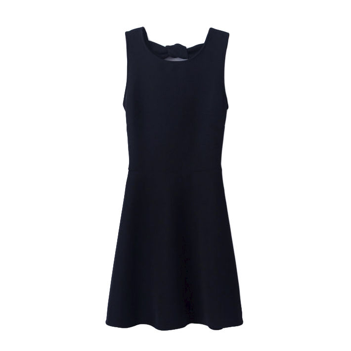 BOW BACK DRESS - product image