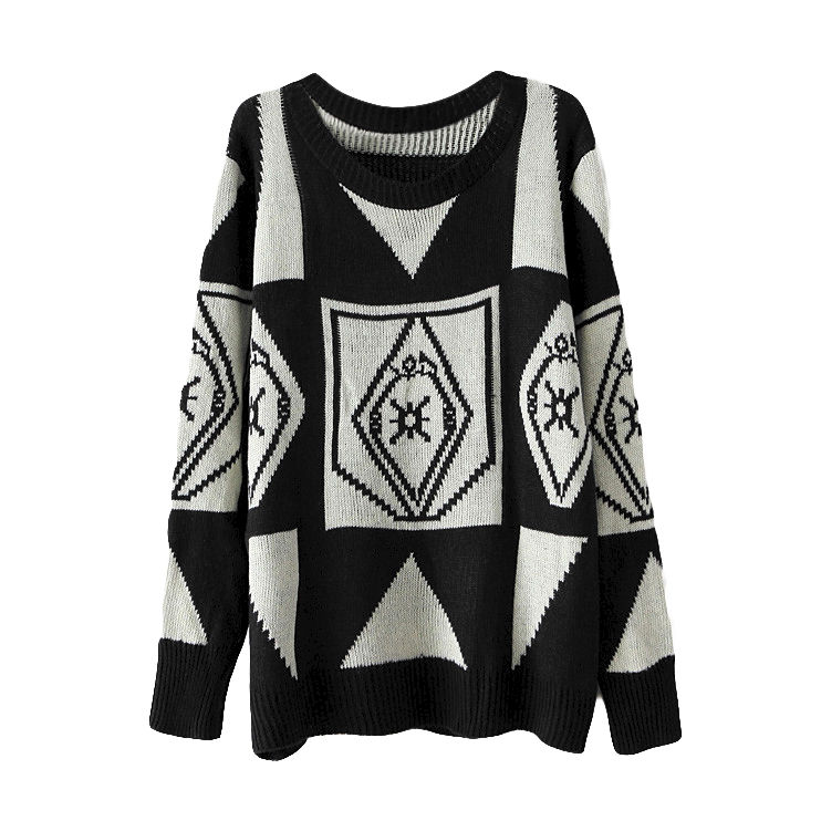 ZIGZAG PATTERN JUMPER - product image