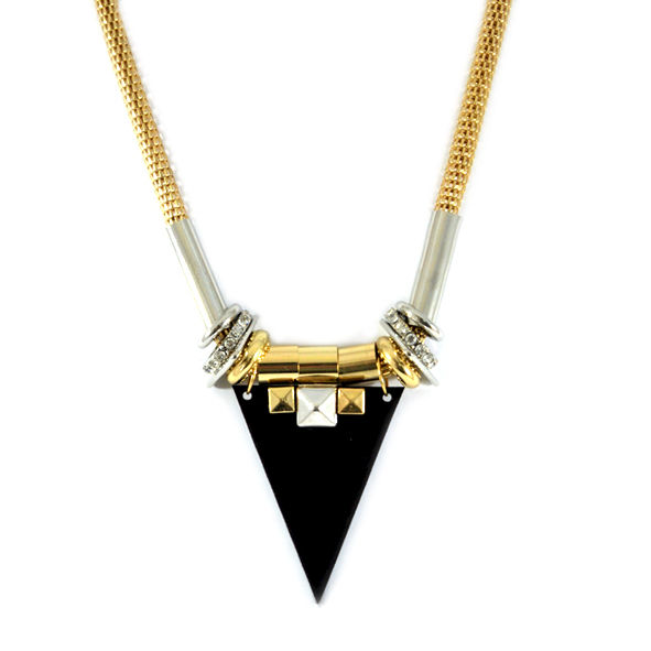 TRIANGLE PENDANT NECKLACE - product image