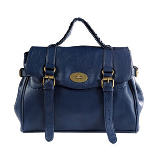 DOUBLE BUCKLE AND LOCK SATCHEL BAG - product image
