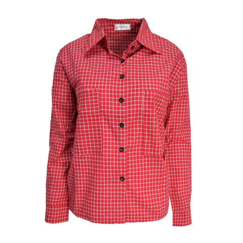 CHECK,SHIRT,CHECK PATTERN SHIRT, BLUE CHECK PATTERN SHIRT, RED CHECK PATTERN SHIRT