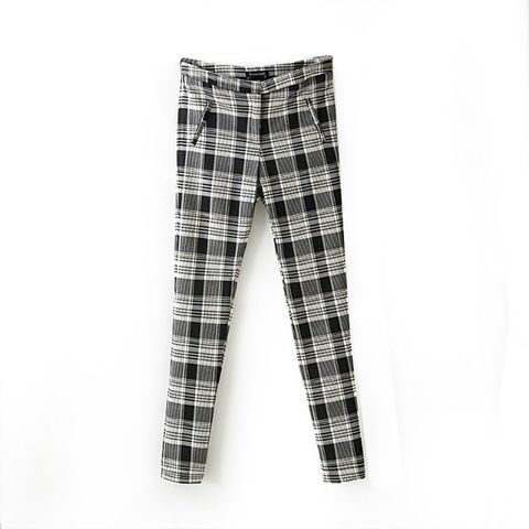 CHECK,TROUSER,CHECK PANTS, CHECK PATTERN PANTS, BLACK AND WHITE PANTS, BLACK AND WHITE TROUSERS