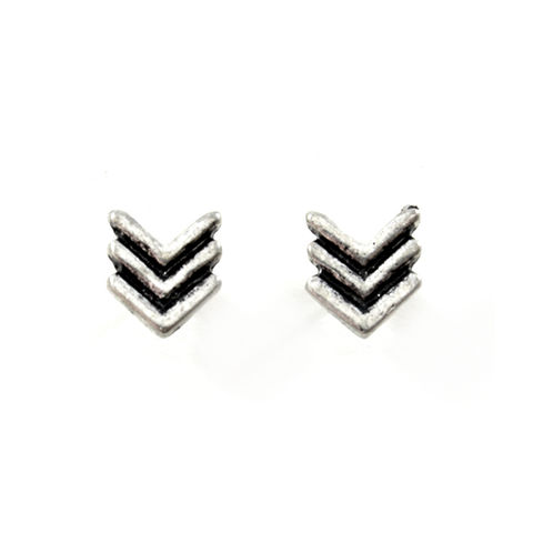 ARROW,EARRINGS,VINTAGE ARROW EARRINGS, VINTAGE SILVER EARRINGS, ARROWS EAR STUD