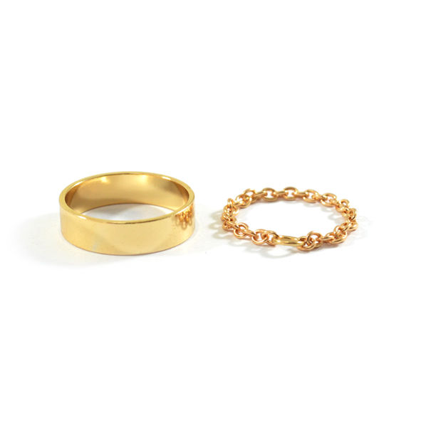 MINIMAL SURFACE WITH CHAIN RING SET - product image