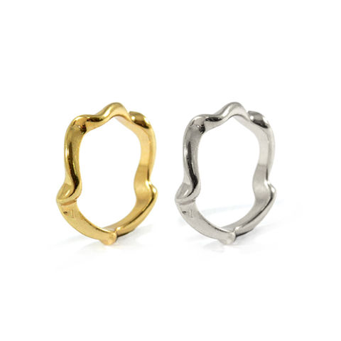 WAVED,RING,CURVED RING, GOLD CURVED RING, SILVER CURVED RING, GOLD WAVED RING, SILVER WAVED RING