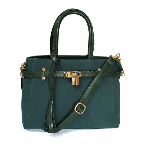 FRONT,LOCK,TOTE,BAG,LOCK AND TASSEL TOTE BAG, GREEN LOCK TOTE BAG, MINIMAL SATCHEL BAG, KEY AND LOCK SATCHEL BAG