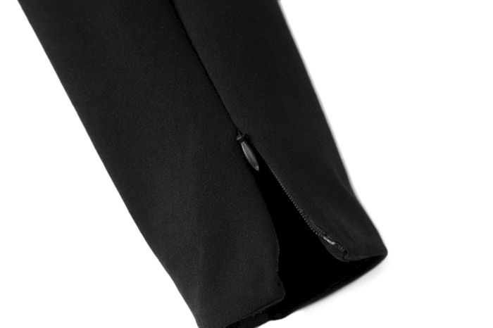 TWO SIDE ZIP SKINNY TROUSERS - product image