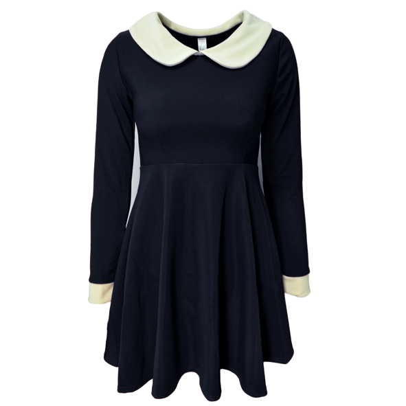 LARGE COLLAR DRESS - product image