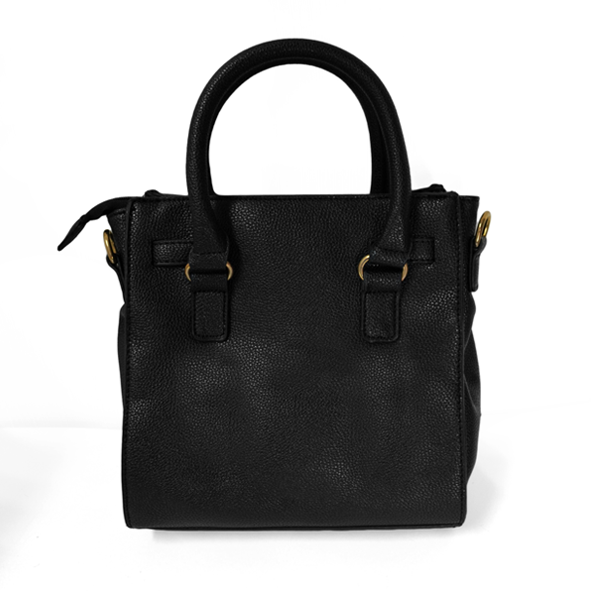 LOCK DETAIL SHOULDER BAG - product image