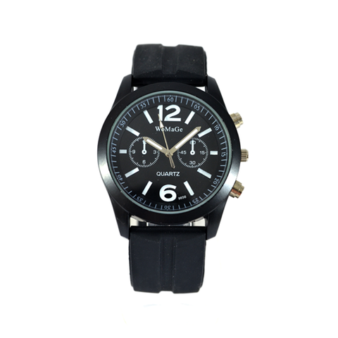 UNI,SEX,WATCH,CHRONOGRAPH WATCH, BLACK CHRONOGRAPH WATCH, TIRE WATCH, TIRE STRAP DESIGN WATCH, BLACK TIRE DESIGN STRAP WATCH