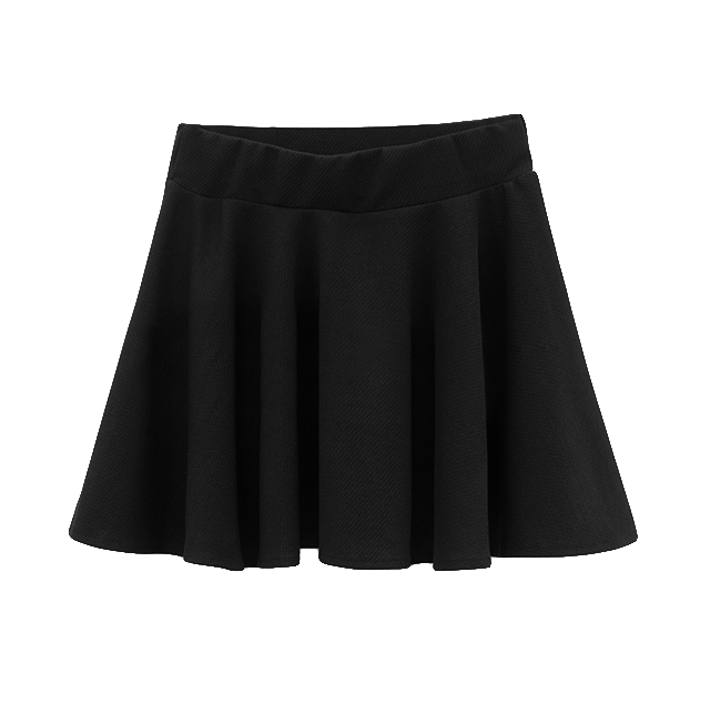 CLARET PLEATED SKIRT - product image